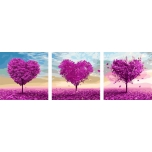 Purple love triptix