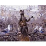 A singing cat