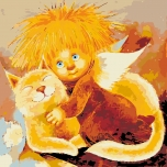 Angel of hugs