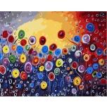 Цветочная радуга