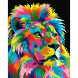 Colorful Lion 2