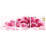 Bouquet of roses Triptix