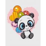 Праздничный панда