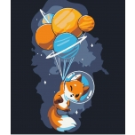 Fox astronaut