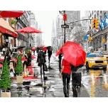 Дождливый город